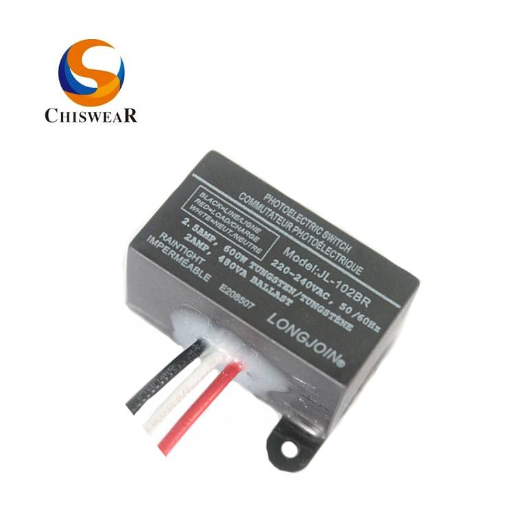 Wiring Mounted 240V Miniature Photocell Light Sensor JL-102BR Featured Image