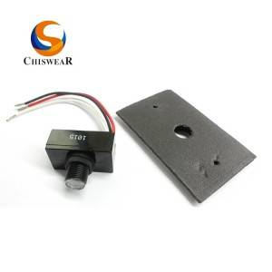 Hardwired Button Photo Control and Option Available Aluminium Plate Kits