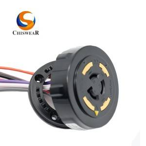 NEMA 7 PIN Twist Lock and Rotatable Photocontrol Receptacle JL-260D2