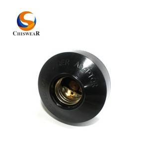JL-302A Led Bulb Socket With Photocell Switch