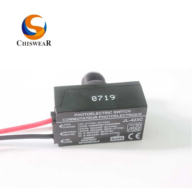 Hot Selling for Photocell Light Sensor Switch -