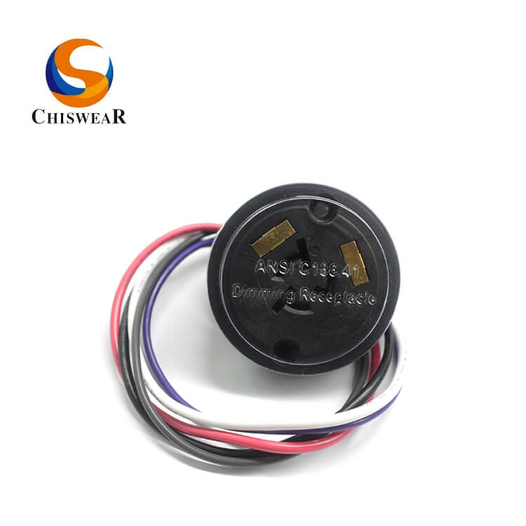 ANSIC 136.41 5 PIN Photocell Receptacle JL-240XB Featured Image