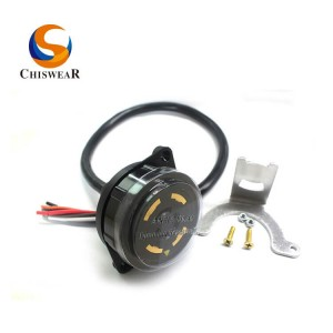 ANSI C136.41 7 PIN Twist Lock Receptacle JL-260C