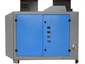 Parallel circuit solid state augstfrekvences welder