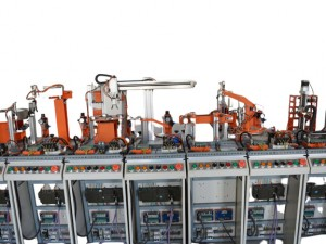 Automation design of factory production line