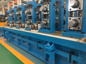 Straight seam steel pipe production line equipment