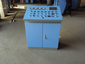 Series circuit solid state high frequency welder