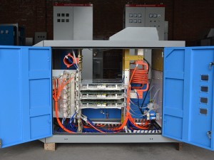 Parallel circuit solid state high frequency welder