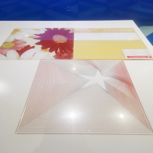 5mm Tempered Printed Silk Screen Glass
