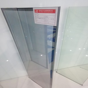 4mm 9Ar 4mm Single Silver Lowe Tempered Insulated Glass