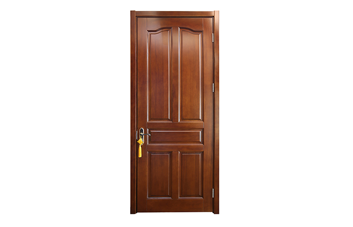 Original Wood Door si China Manufacturer SEINDA Home Ịchọ Mma
