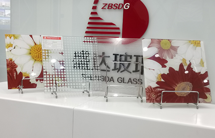 Printed Tempered Glass From China Manufacturer Shengda Glass