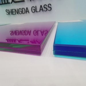 6mm Tempered Decorative Color Glass