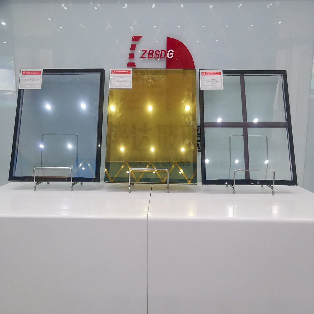 4mm 12a 4mm Clear Heat Absorbing Insulated Glass Panel