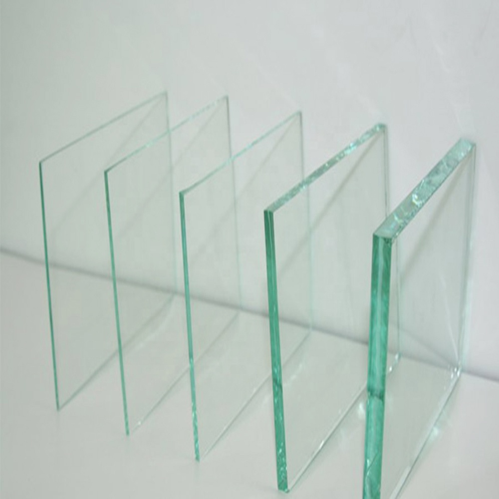 10mm Building Clear Safety Tempered Glass Materials
