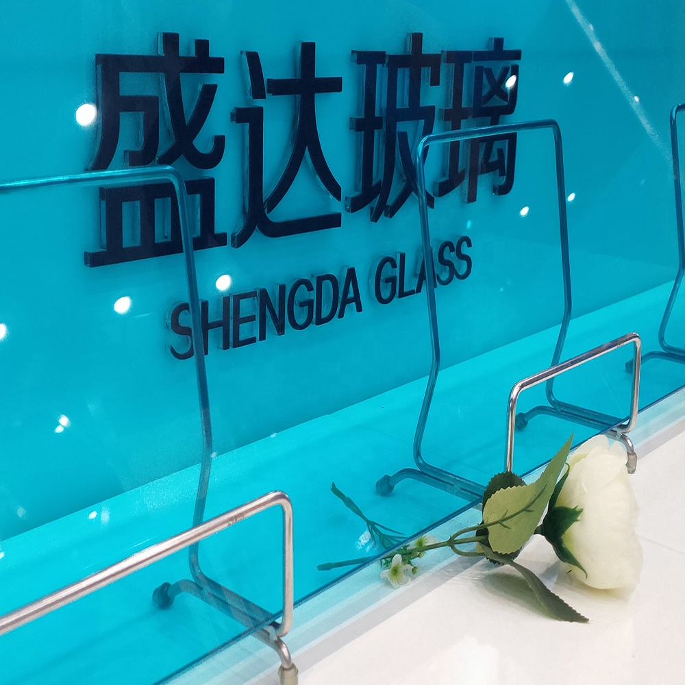 6mm 0.38 6mm Sgp Building Flat Low-E Tempered Laminated Glass