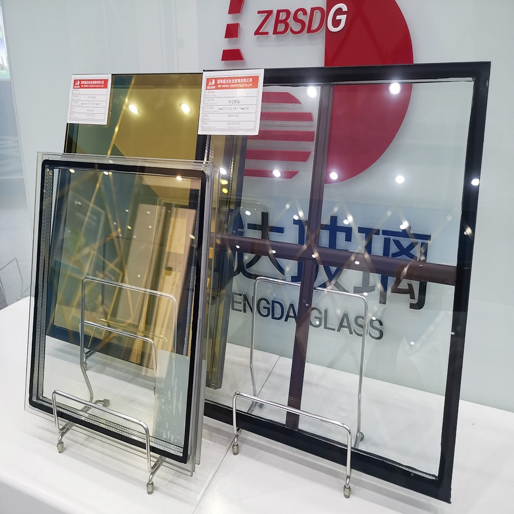 3mm 12ar 3mm Double Glazed Tempered Insulated Clear Glass Panel