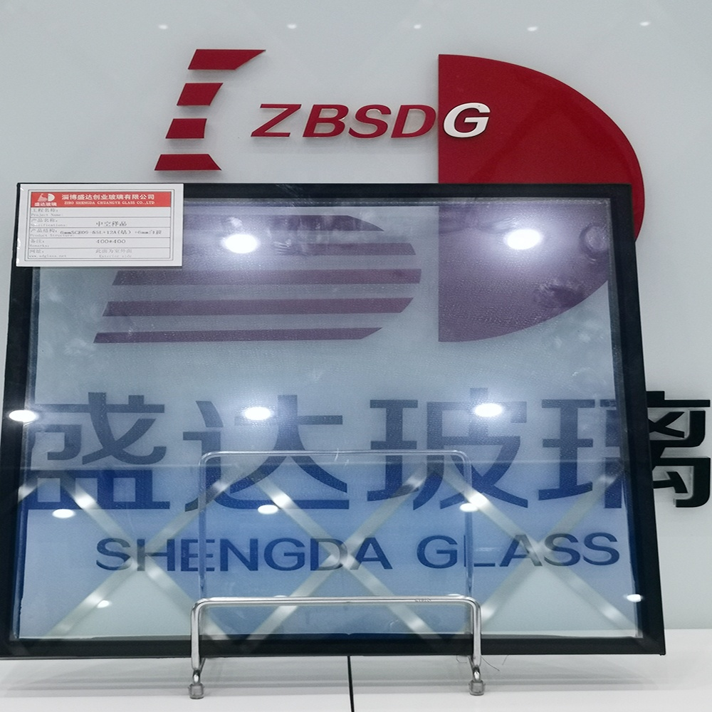 3mm 9Ar 3mm Clear Insulated Hollow Glass Panels