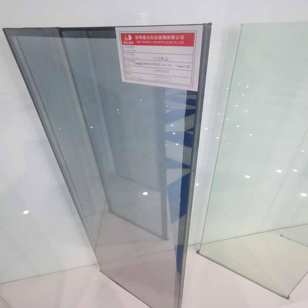 3mm 6Ar 3mm Clear Tempered Insulated Glass