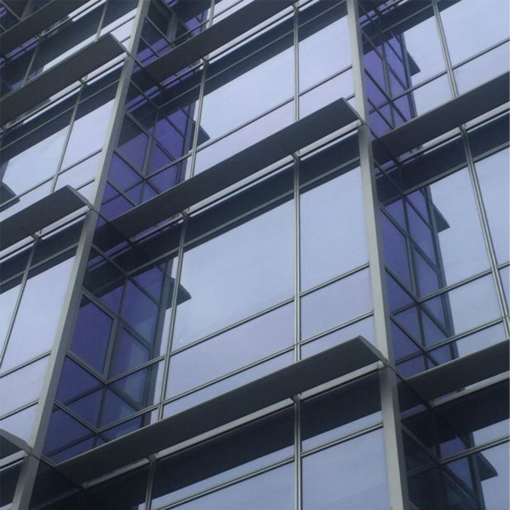 Insulated tempered curtain wall glass