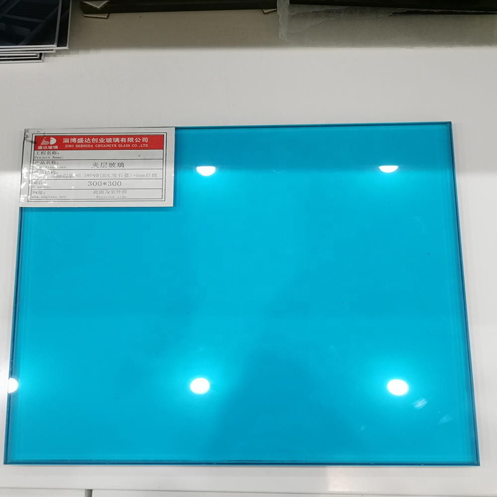 3mm 0.38 3mm Pvb Film Decorative Color Laminated Glass