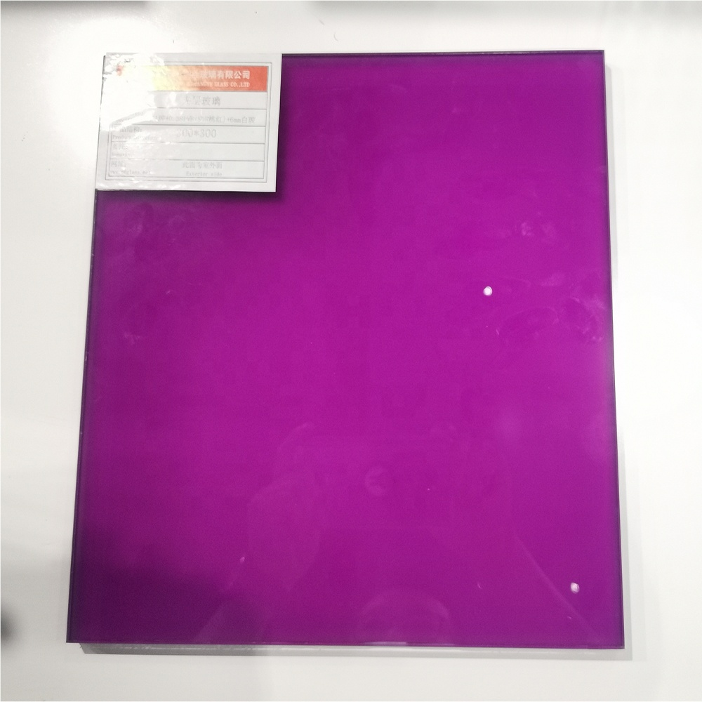 6mm 1.14pvb 6mm Tinted Toughened Laminated Glass