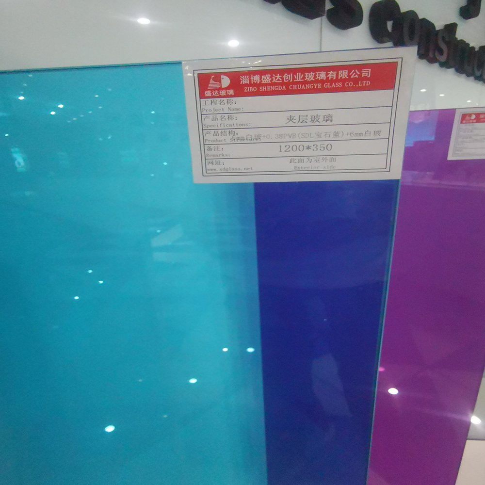 5mm 0.76 5mm Hurricane Resistant SGP Laminated Glass