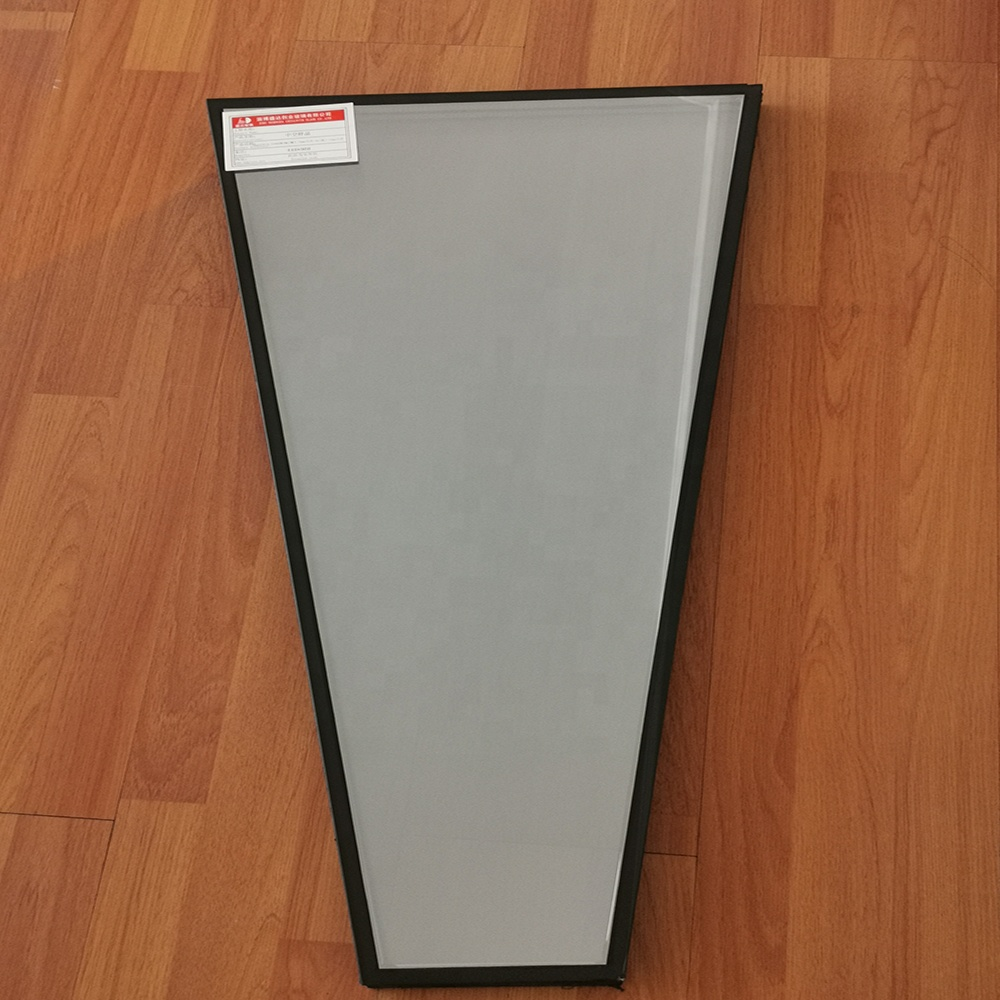 5mm 9Ar 5mm Double Sound Proof Tempered shaped Insulated Glass