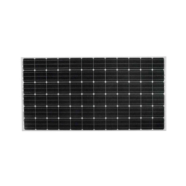 Transparent 72 cell solar panel dual glass solar panel monocrystalline 370w