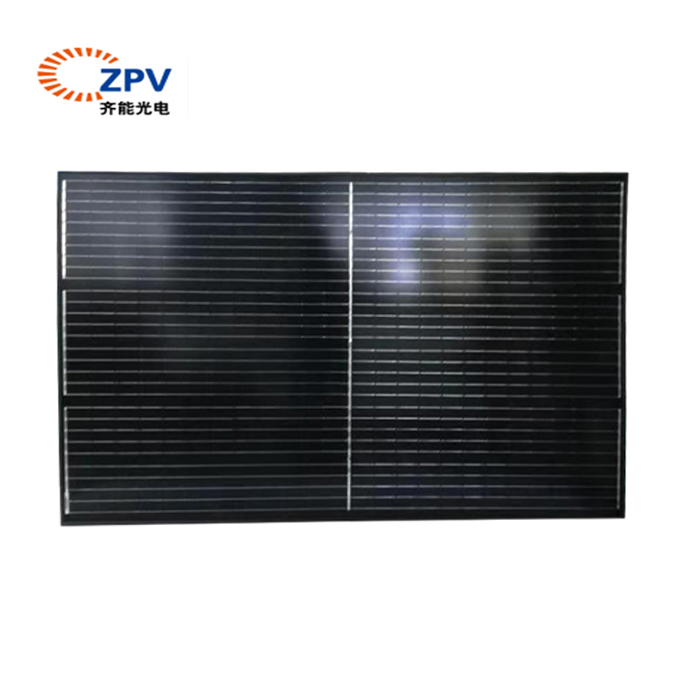 Half cell solar panel China manufacturer 400W transparent solar panel