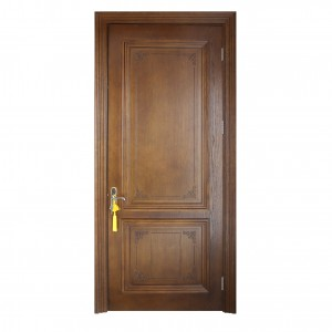 Bathroom Solid Wooden Composite Door