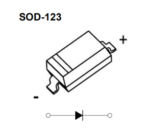 diode,B5819W,Schottky diode