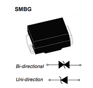 diode,SMBJ 8.0A,SMB packaging TVS diode