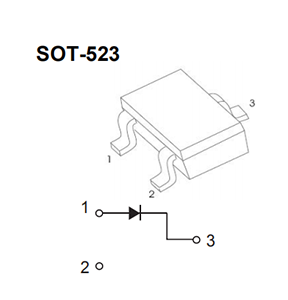 diode,MMBD4148T,Switching diode