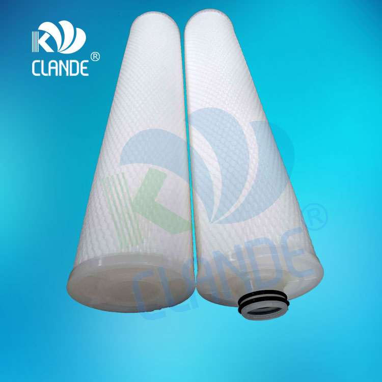 Factory Cheap Pes Membrane Pleated Cartridge Filters -
