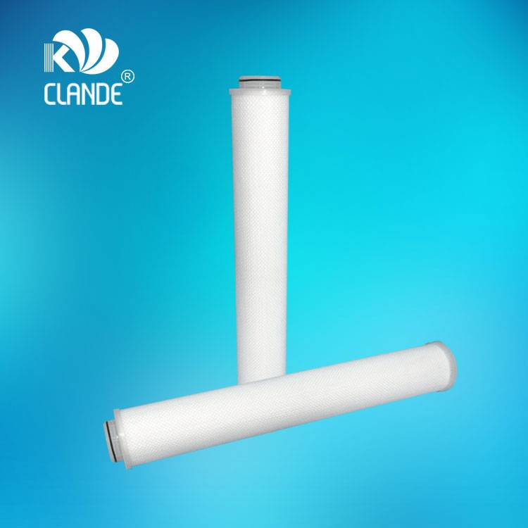 Online Exporter High Flow Pp Pleated Filter Cartridge - CLANDE® F Series, Replace PHOSPHOR water filter element – Kelandi detail pictures