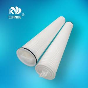 China Gold Supplier for Water Filter Cartridge