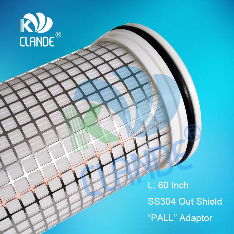 "Wholesale Price Waster Water Treatment Plant - 60″ PP yarn wound with SS core, ""PALL"" style adaptor – Kelandi"