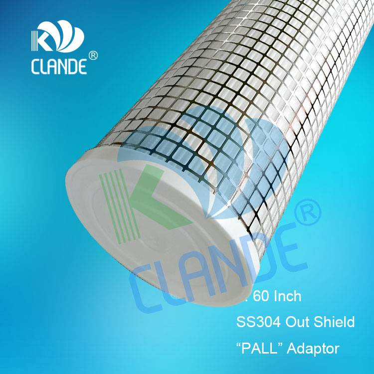 "Wholesale Price Waster Water Treatment Plant - 60″ PP yarn wound with SS core, ""PALL"" style adaptor – Kelandi detail pictures"