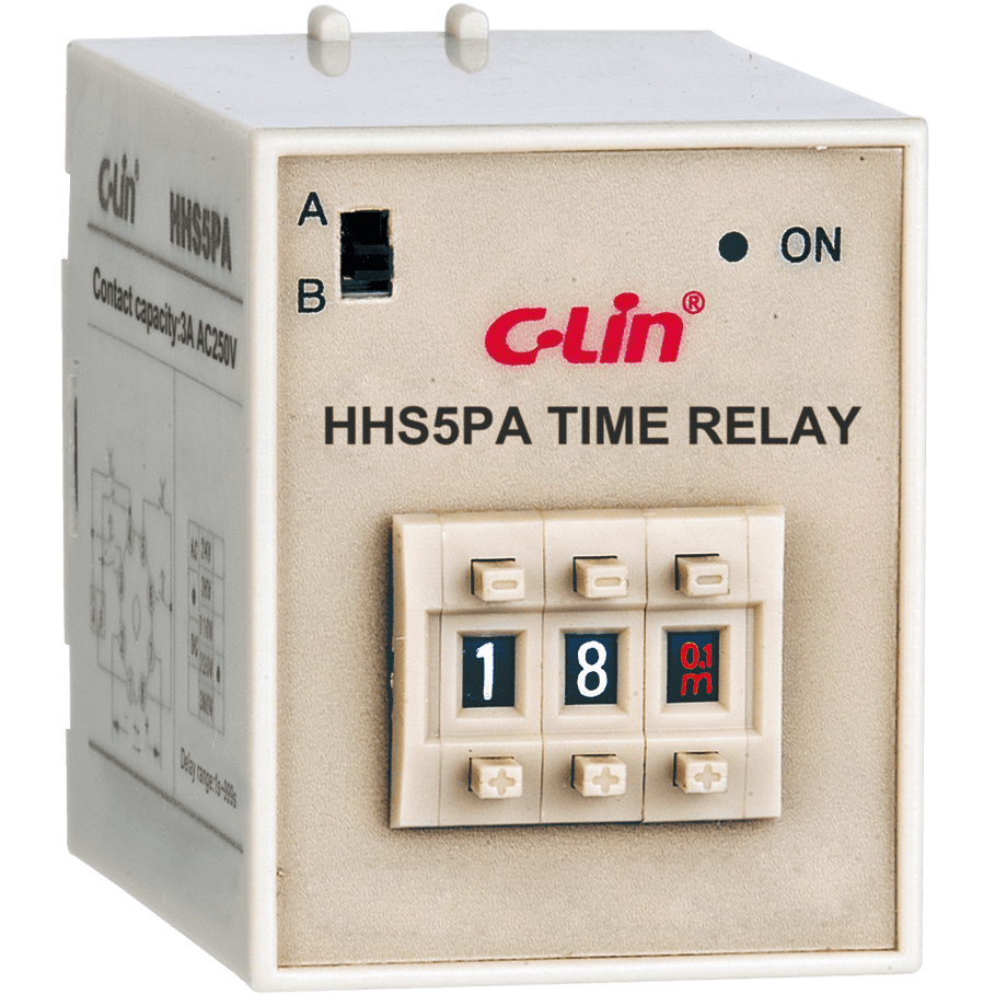 Reliable Supplier	Pid Temperature Controllers	- Time Relay HHS5PA – C-lin