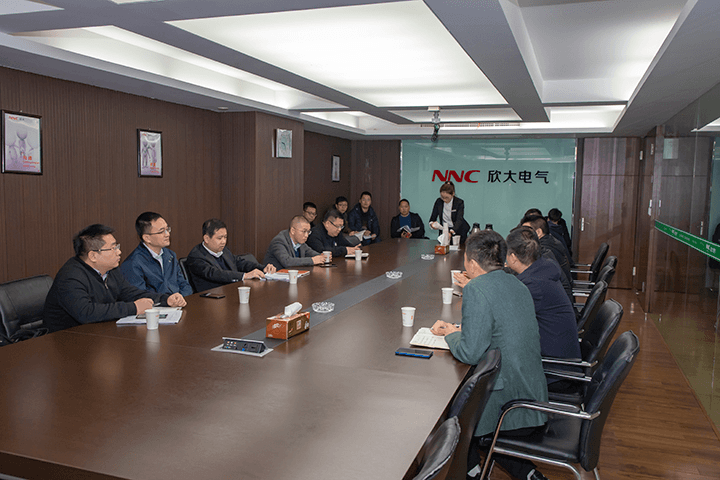 Yueqing Mayor Fang Hui and His Group Visit C-lin Electrical