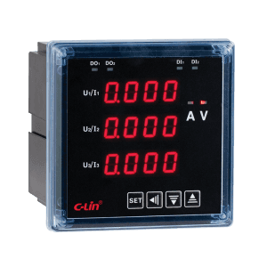 LED Programmable 3 Phase Power Meter HPZ96