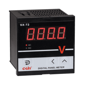 LED Digital Current Voltage Meter SX-72