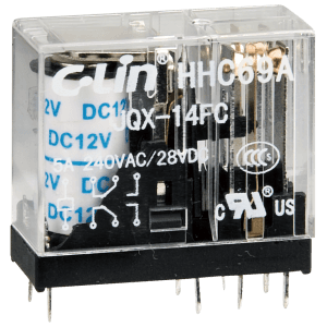 Electromagnetic Relay HHC69A-2Z (JQX-14FC 2Z)