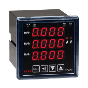 LED Programmable 3 Phase Power Meter HPZ72