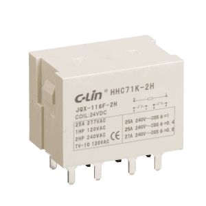 Electromagnetic Relay HHC71K-2H  JQX-116F-2H