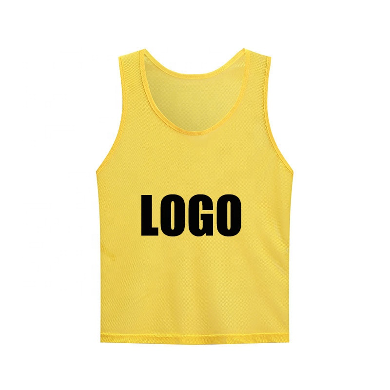 custom logo adult soccer bibs new design football training vest soccer pinnies scrimmage vests