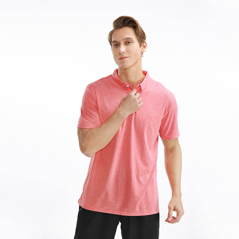 Golf Wear men's jersey Male Polo Shirt Short Sleeve Breathable elastic polo shirts for men