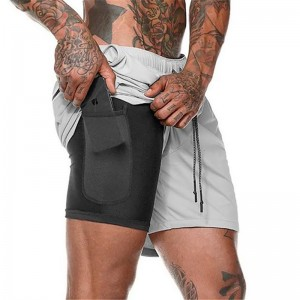 Breathable Custom Odm Fashion Jogging Adult functional Mens Shorts
