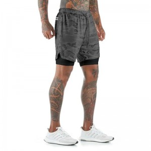 Breathable Custom Odm  Jogging Shorts Adult functional for Mens